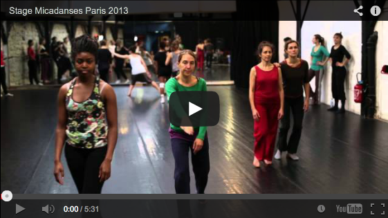 Stage Micadanses Paris 2013